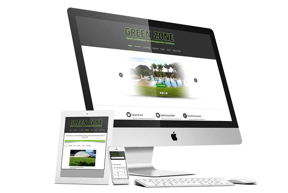 Site de présentation Green Zone