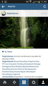 Légende instagram