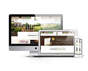 Création du site : Domaine de Prapin