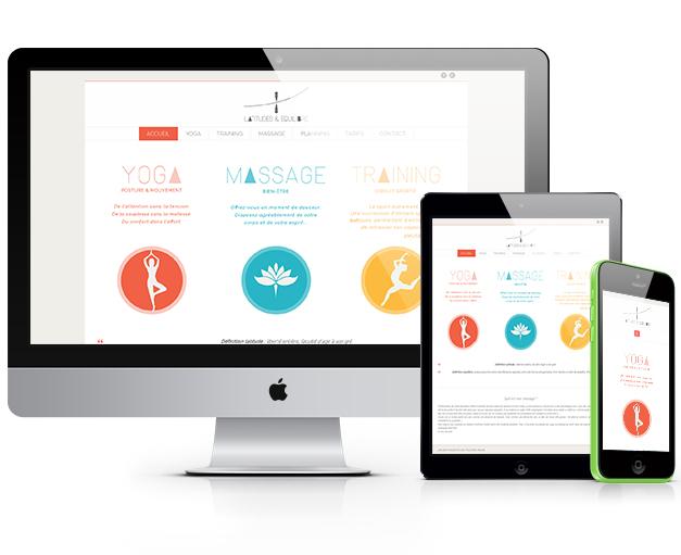 Site de présentation Attitude et Équilibre