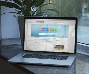 WordPress : Site de présentation Le monde de la découverte