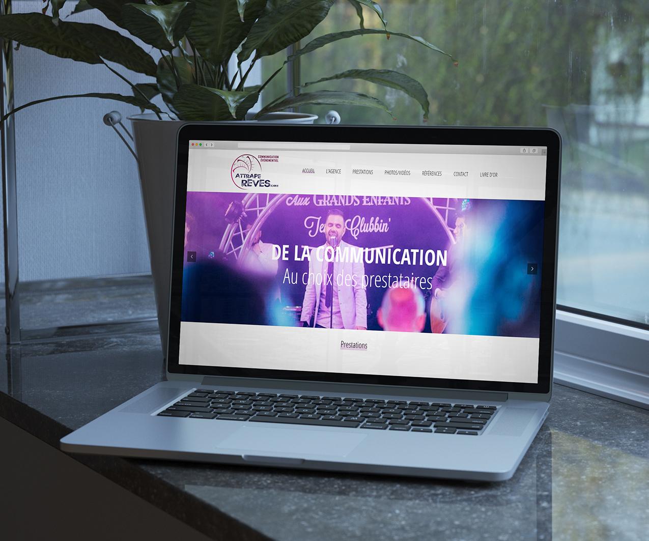Site de présentation Attrape Rêves