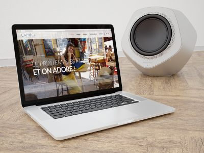 Site E-commerce Caprice