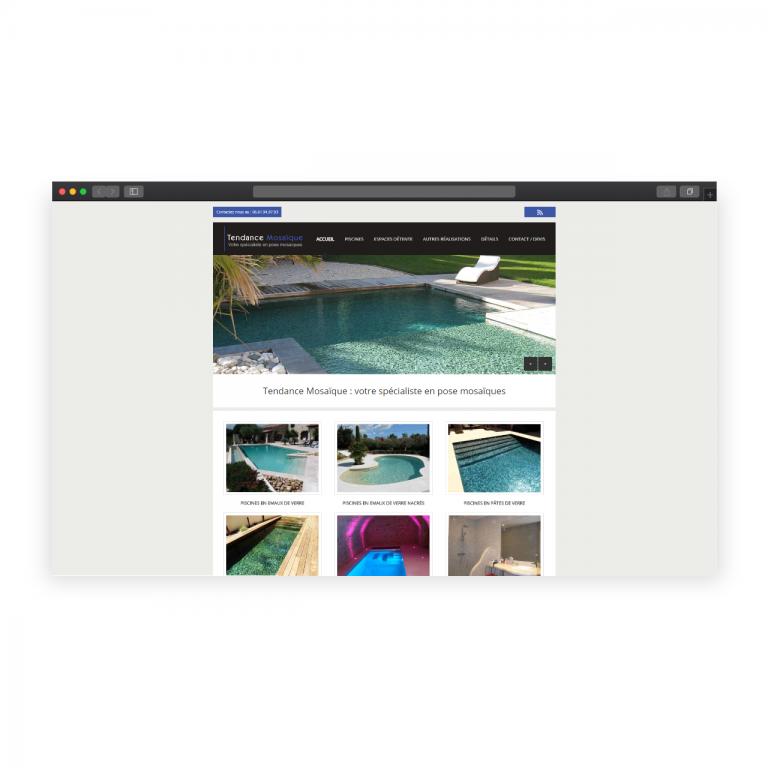 Intégration site Carrelage Piscine