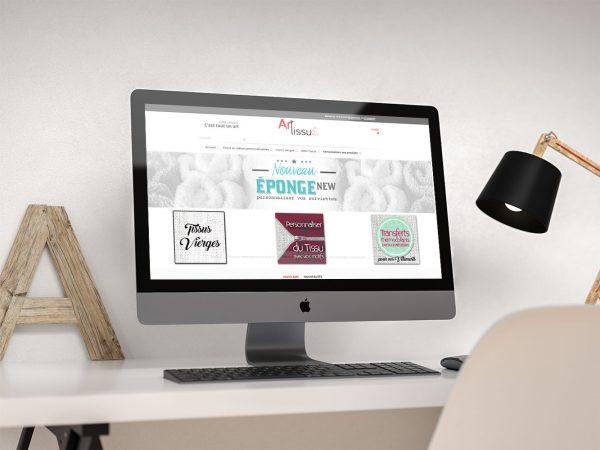 Boutique en ligne Art Tissu