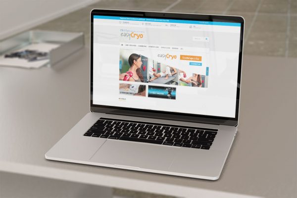 Site e-commerce Easy Cryo