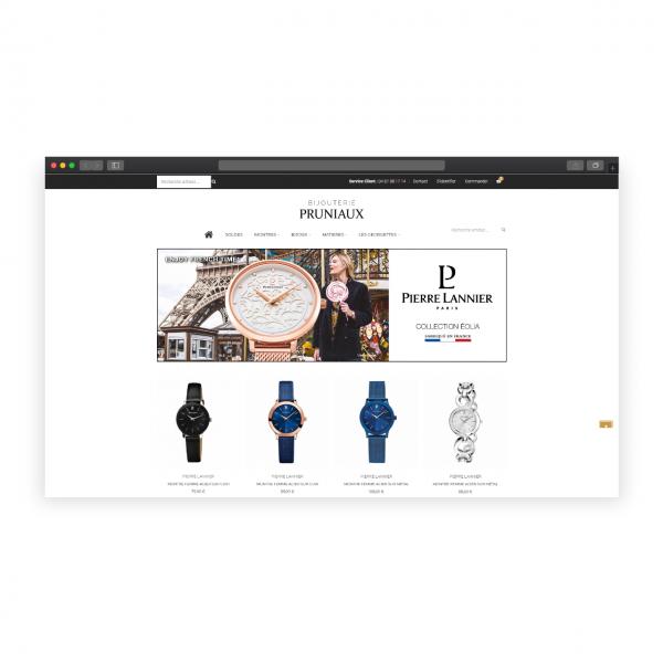 Création boutique en ligne de Bijoux