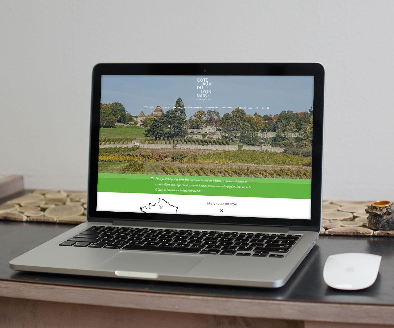 création site coteaux du lyonnais
