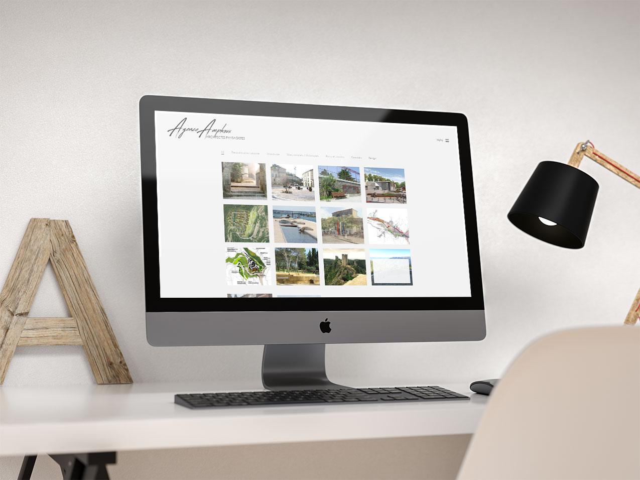 site de présentation architecte
