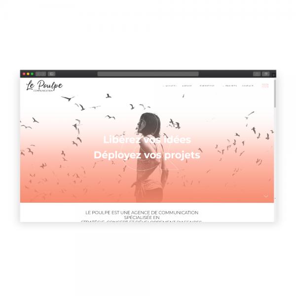 Création du site Le Poulpe Communication