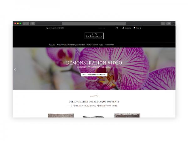 Boutique en ligne, personnalisation de plaques souvenirs