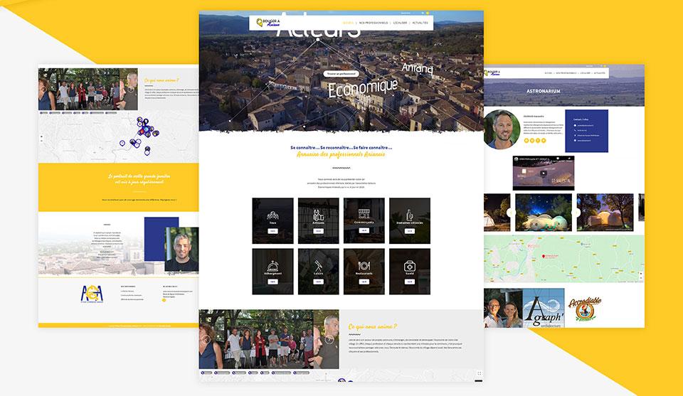 bouger a aniane webdesign