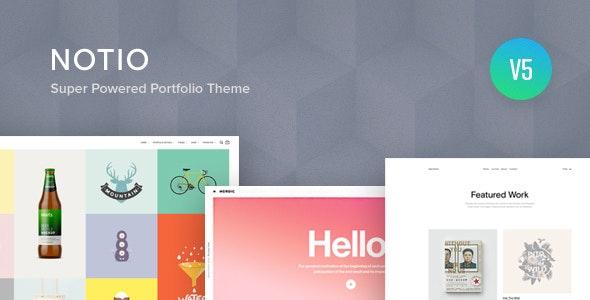 template dedie portfolio