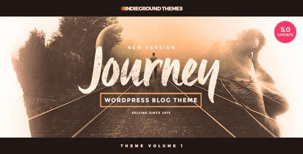 theme blog voyage