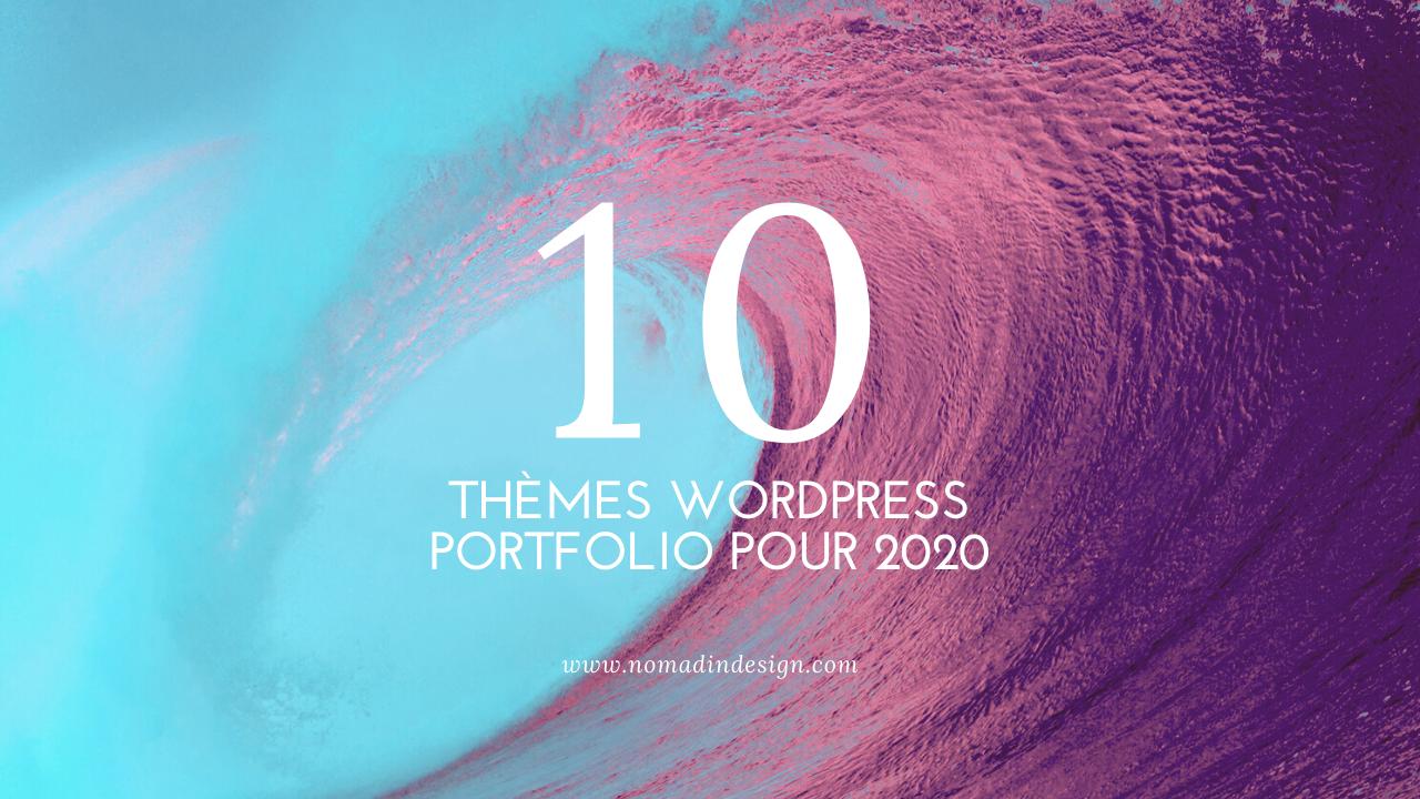 themes portfolio 2020 wordpress
