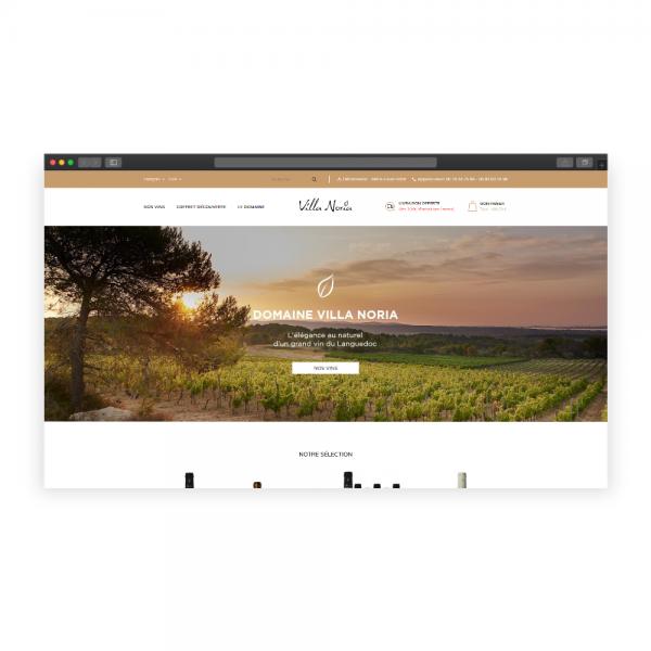 Boutique en ligne Domaine Villa Noria