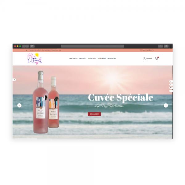 Boutique en ligne Caveau de Bessan