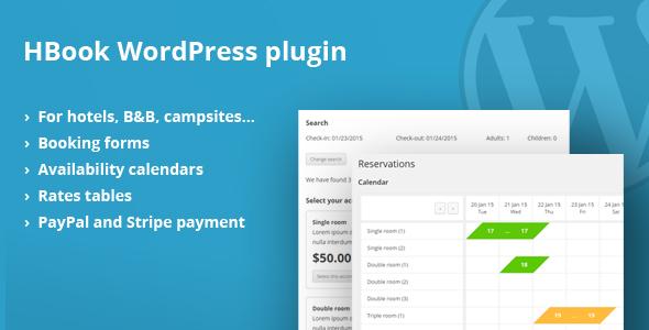 plugin réservation en ligne